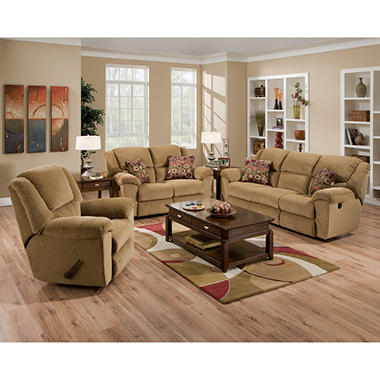 Quest 3 pc. Grace  Reclining Sofa Set