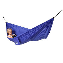 Blue Sky Outdoor Single Ultralight Hammock, with Free Tree Straps