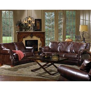 Quest Furniture Julien 3-Piece Leather Living Room Set