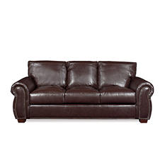 Franklin Leather Sofa