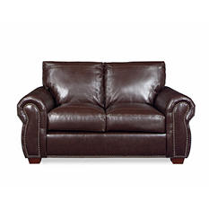 Franklin Leather Loveseat