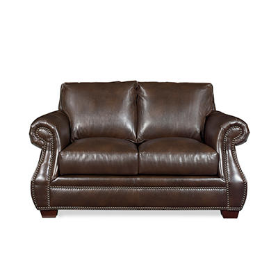 Lexington Leather Loveseat