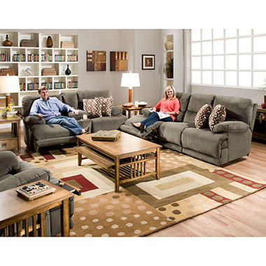 Shelby Reclining Living Room 3 Piece Furniture Set Sam 39 S Club