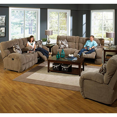 Savannah Reclining Oversize Living Room 2 Piece Set Sam 39 S Club