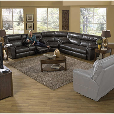 Judson Reclining Oversize Sectional Living Room 3 Piece Set Sam 39 S Club