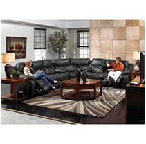 Santa Barbara Reclining Sectional Living Room 3-Piece Set