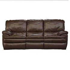Hope Park Leather Reclining Sofa
