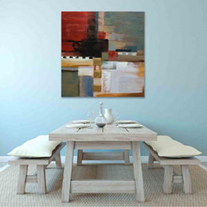 Canvas Oil Painting - Hand-Painted Abstract  #2