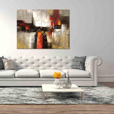 Canvas Oil Painting Hand-Painted Abstract #3  ACM01727