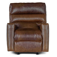 Restoration Vintage Leather Craftsman Full-Grain Leather Power Recliner Chair