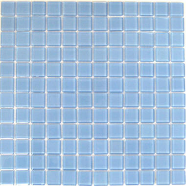 "Blue Mosaic Glass Tile - 6 - 12"" x 12"" Sheets"