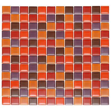 Passion Mosaic Glass Tile - 6 - 12