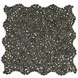 "Small Black Mosaic Pebble Tile - 6 - 12"" x 12"" Sheets"