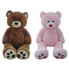 """76"""" Plush Jumbo Bear"""