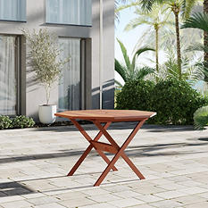 Madrid Eucalyptus Octogonal Patio Dining Table