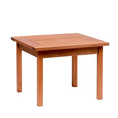 Madrid Eucalyptus Square Patio Side Table