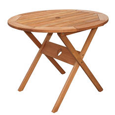 Madrid Eucalyptus Round Patio Bistro Table