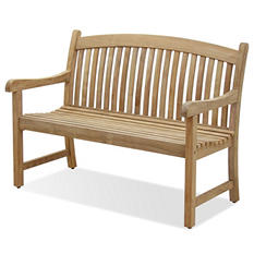 Pescara Teak 2-Seater Patio Bench