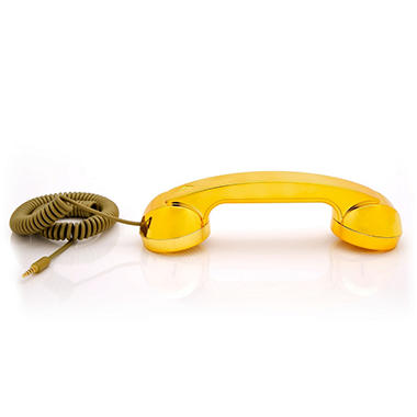 Pop Phone Handset - Gold Pop Limited Edition