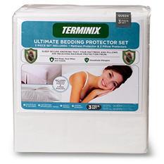 Terminix Ultimate Bedding Protector 3 Piece Set - Various Sizes