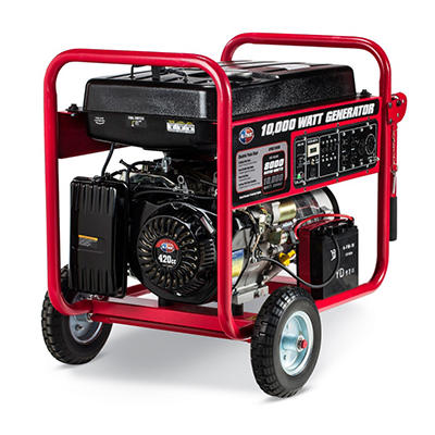All Power 10,000 Portable Gas Generator with Electric Start (Save $100 Now)
