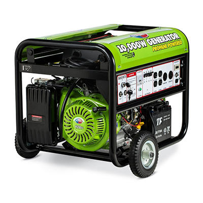 Gentron 10,000 Watt Propane Generator with Electric Start