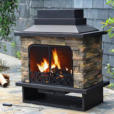 Sunjoy Serena Fire Place