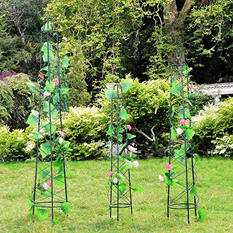Sunjoy Nancy Tower Trellis Set of 3