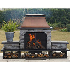 Sunjoy Jefferson Fire Place