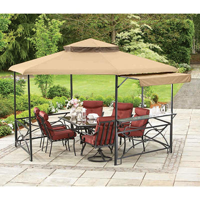 Sunjoy Ainsley Hex Gazebo - 12.8' x 11.2'