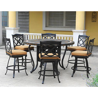 Heirloom Slate High Dining Set - 7 pc.