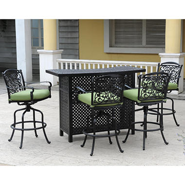 Renaissance Outdoor Bar Set 5 Pc Sam S Club