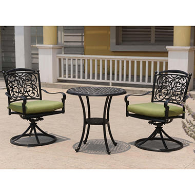 Renaissance Outdoor Patio Bistro Set - 3 pc.
