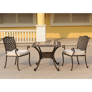 Chess Bistro Set - 3 pc.