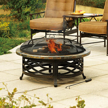 Heirloom Slate Firepit