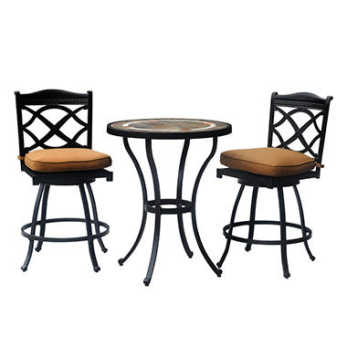 Heirloom Outdoor Patio Bistro Set - 3 pc