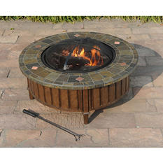 "Sunjoy 40"" Hot Springs Fire Pit"