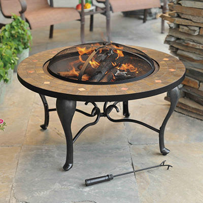 "Sunjoy 35"" Conway Fire Pit"