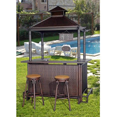 Sunjoy Mantika Bar, 3-Piece Set