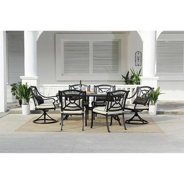 Gracedale 7 pc. Dining Set with Premium Sunbrella® Fabric