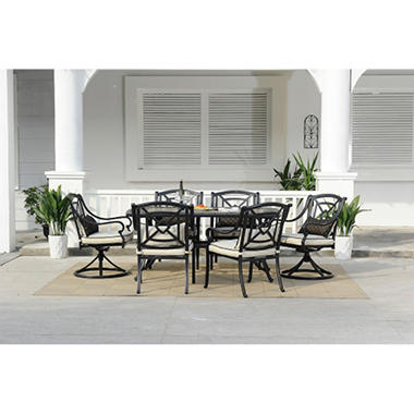 Gracedale 7 pc. Dining Set with Premium Sunbrella® Fabric