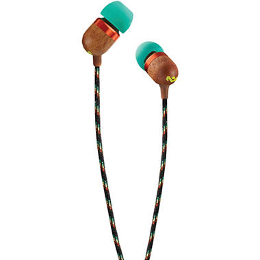 House Of Marley Em-je000-ra Smile Jamaica In-Ear Earbuds (Rasta)