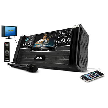 Akai KS 886 Top Load DVD/CD+G Karaoke Machine