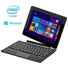 "10.1"" Nextbook - Intel Quad Core 2-in-1 Detached Windows 8.1 Tablet - 32GB"