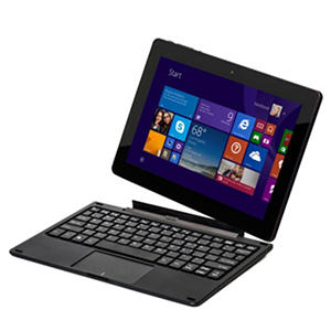 "10.1"" Nextbook Flexx 10 - Intel Quad Core 2-in-1 Detached Windows 8.1 Tablet - 32GB Black *Free Upgrade to Windows 10"