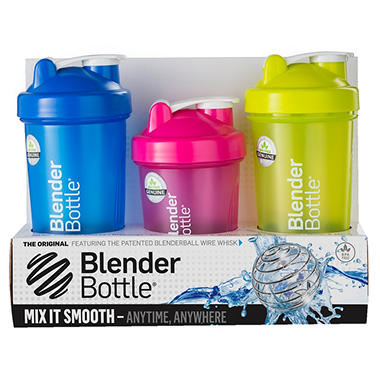 Blender Bottle Classic 3 Leak-Proof Bottles - 2 ct. 28 oz. & 1 ct. 20 oz.