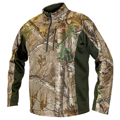 Habit Water Repellant Jacket, Realtree Xtra Camo Print - Choose Your Size