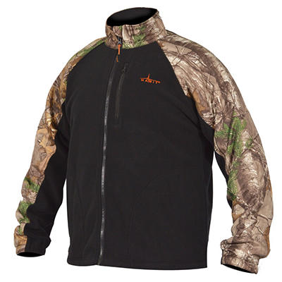 Habit Men's Fleece Jacket, Realtree Xtra Pattern - Choose Your Size