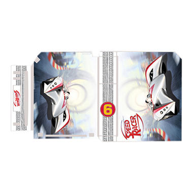 Gamer Graffix Skin: Speed Racer Mach 6 for the Wii