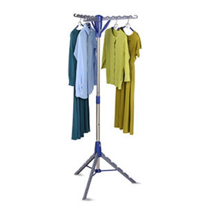 Honey-Can-Do Air Drying Rack Folding Tripod (Blue/Gray)